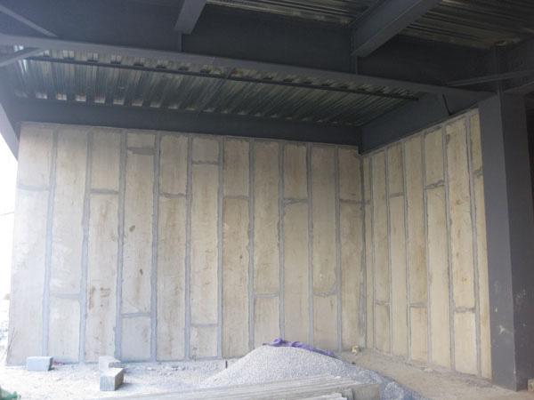 检察院办公楼墙板改造现场展示